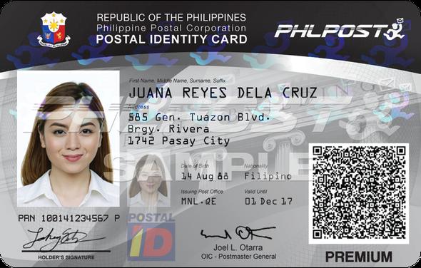 Postal ID Card